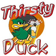 The Thirsty Duck Logo